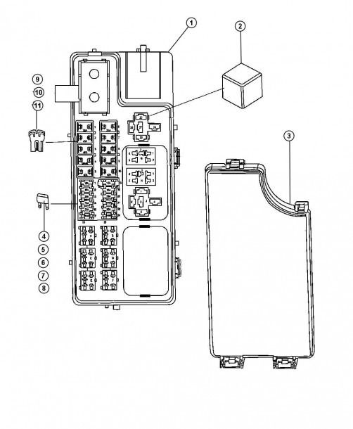 07 jeep fuse box wiring diagram 1992 jeep cherokee fuse panel diagram 2007 jeep compass fuse panel diagram #3