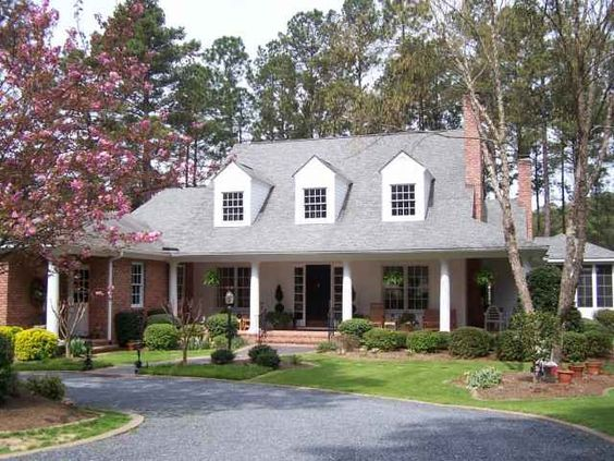 Dream home home dream pinterest southern style for Southern dream homes
