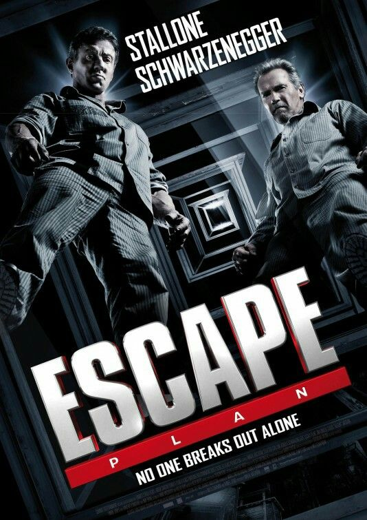 Escape Plan Movie Poster Gute Filme Sylvester Stallone Filme Stream