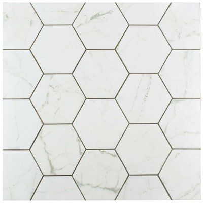 Karra 7 X 8 Porcelain Stone Look Wall And Floor Tile Porcelain Flooring Merola Tile Flooring