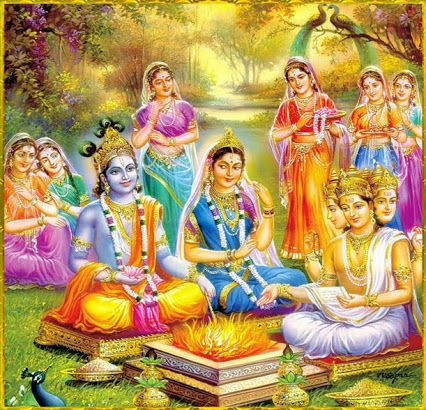 Image result for radha krishna wedding