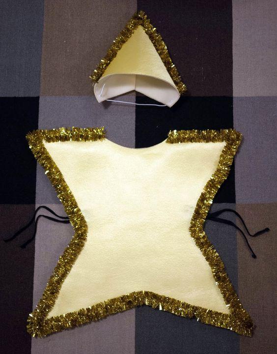 Disfraz de estrella casero