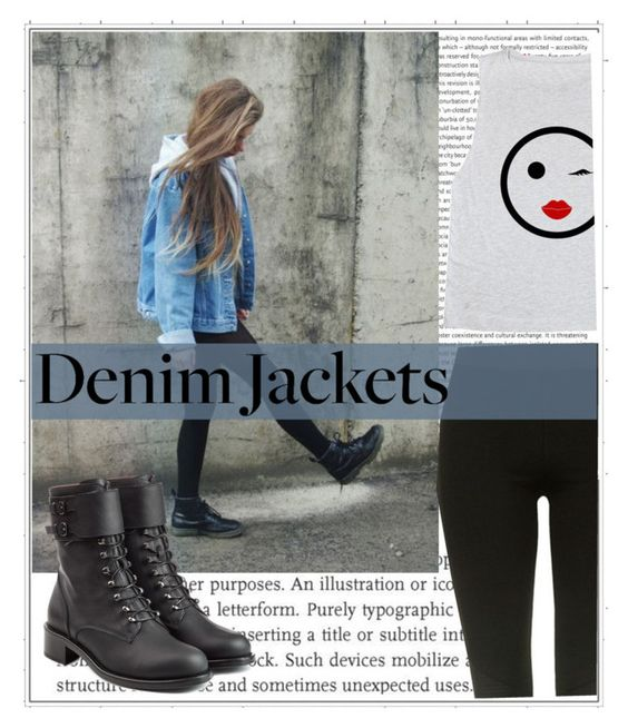 """""""#denimjackets"""" by twinkle-daisy ❤ liked on Polyvore featuring Oris, Topshop, Philosophy di Lorenzo Serafini, denimjackets and WardrobeStaples"""