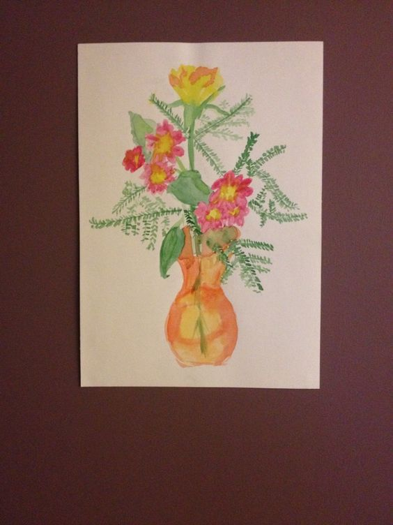 """""""Flowers"""" Painting"""