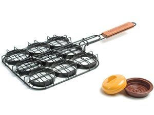 2-pc. Mini Burger Grill Basket Set by Charcoal Companion at Cooking.com