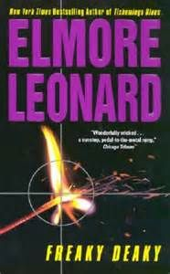 "Elmore Leonard's - Freaky Deaky (1988) book (2012) film - ""You know I suffer from anti acrophobia, fear of not being high."" Set in 1974, a pair of '60s radicals rely on their bomb-making skills on their way to becoming capitalists."
