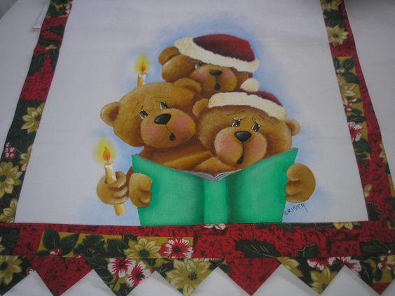 Pintura em tecido para Natal