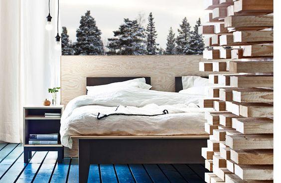 Made in Lappland – vilsam energi med furu i sovrummet - Sköna hem
