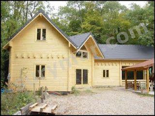C mo construir casas de madera en este post explicar a - Como se construye una casa de madera ...