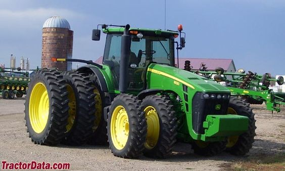 Front Duals For Tractors : With rear triples and front duals nothing runs like
