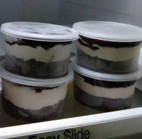 Resep Dessert Box Kekinian Oleh Tika Atikah Resep Avocado Dessert Oreo Desserts Oreo Pudding