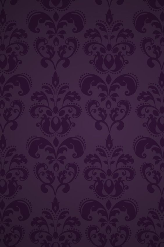 Purple wallpaper. So pretty.