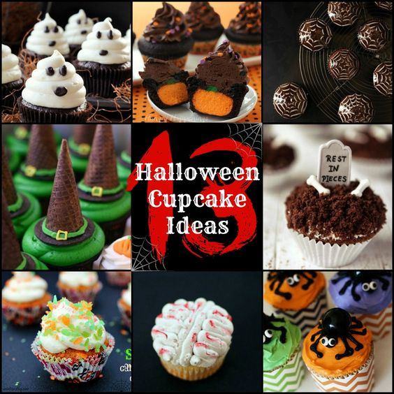 Halloween Cupcakes Cupcake Ideas And Halloween On Pinterest