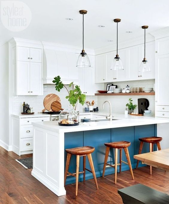 50 Neat Modern Farmhouse Kitchen in Your House Design