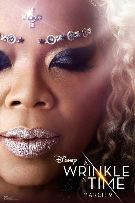 Oprah - Meet the Mrs.'s and the Murrys in these brand new posters from Disney's A Wrinkle in Time ✨