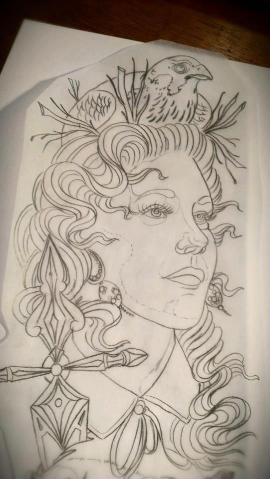Tattoo Artwork by Jacob Pedersen