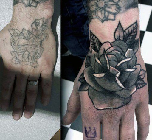 Top 59 Cover Up Tattoo Ideas 2020 Inspiration Guide Hand