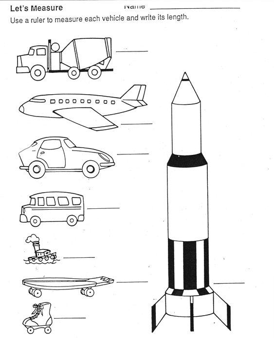 plane, rocket and autos, etc