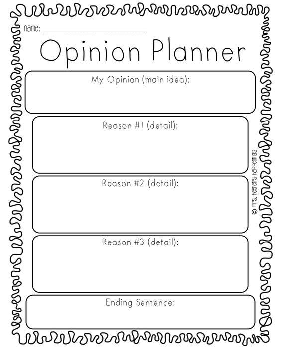 An opinion essay