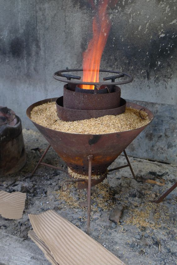 Reforestation And Rice Hull Stoves Stove Rice And Rice