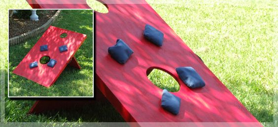 Make Your Own Corn Hole - need to complete by summer