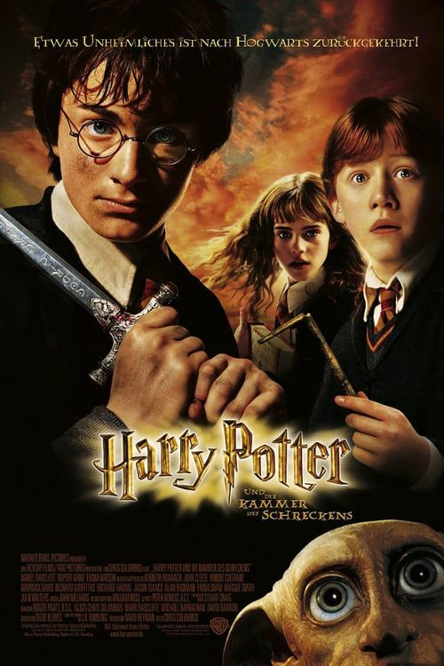 Harry Potter And The Chamber Of Secrets 2002 Full Movie Hd Free Download Dvdrip Harry Potter Films Chamber Of Secrets Harry Potter Poster
