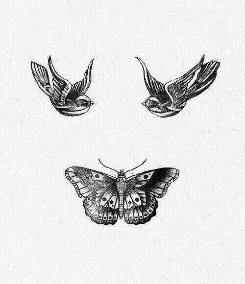 Harry Styles Bird Tattoos