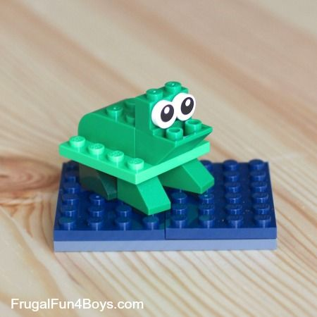 easy lego creations with instructions