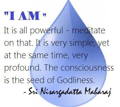 nisargadatta maharaj, prior to consciousness