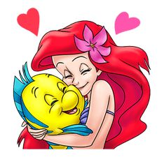 The Little Mermaid - Official Stickers: