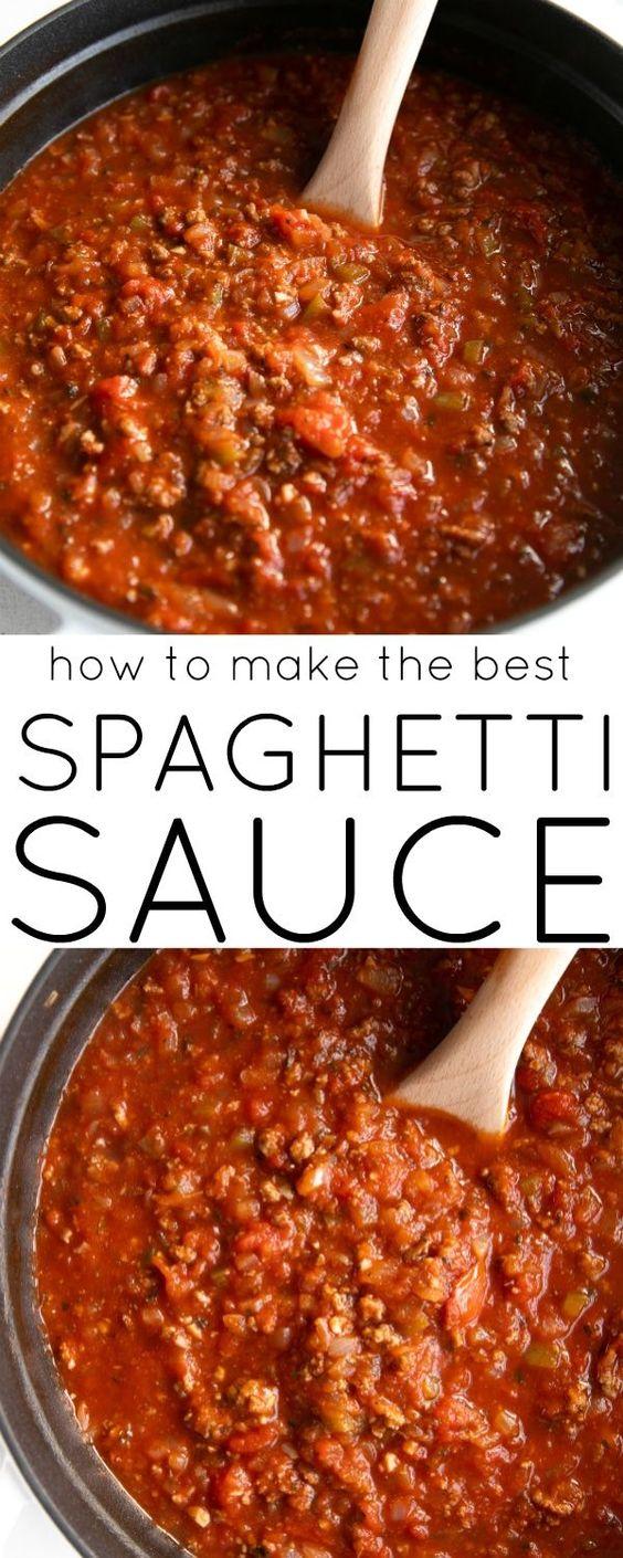 Best Spaghetti Sauce Recipe - How to Make Spaghetti Sauce
