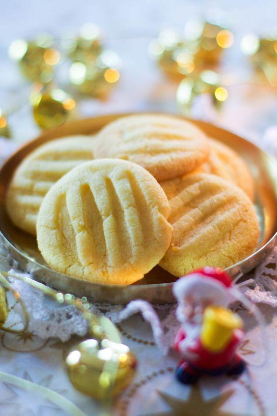 """Un """"Flo"""" de bonnes choses » {Bredele 2014} Lemon crumble biscuits"""