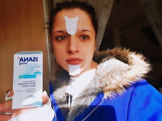 Isana Young antibakterielle Face Strips Erfahrung