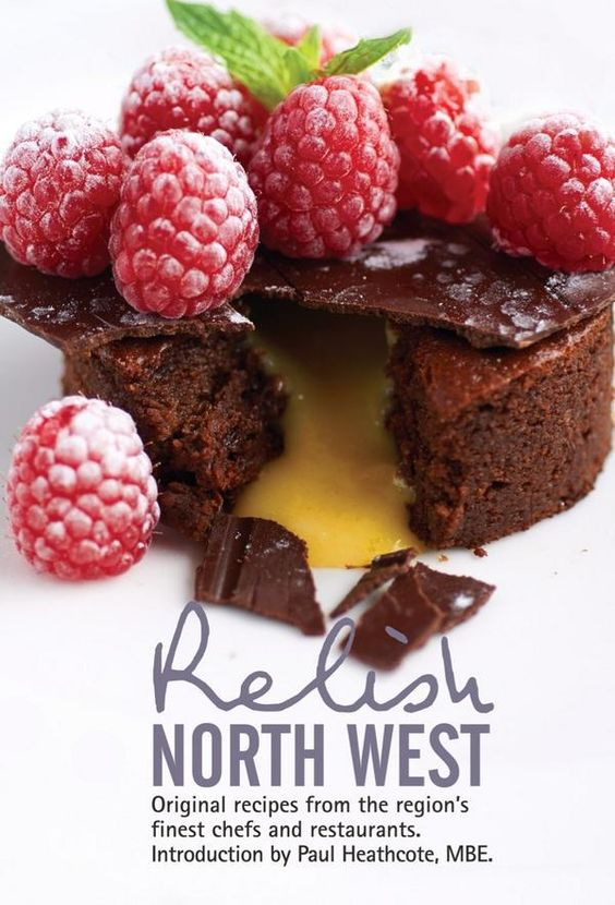 """Relish North West: """"With mouth-watering easy to follow recipes and beautiful photography, this book is a must have for any foodie, from the professional chef to the inspired home cook."""" - Michael Caines, MBE. The high standard of all the restaurants and talented chefs that operate across the North West makes the area a food lovers' dream."""