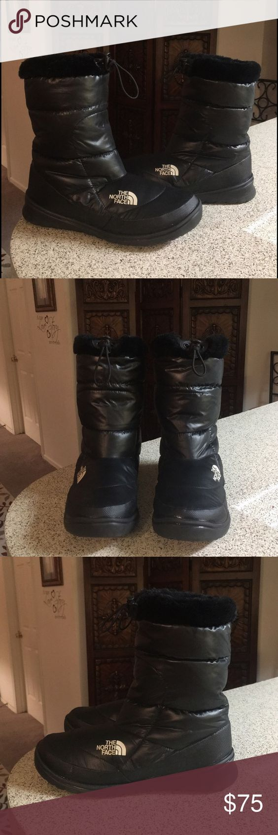 The North Face Nuptse Down Winter Boots Sz 9 These boots are gently used and still in great condition The North Face Shoes Winter & Rain Boots