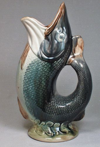 Fish and antiques on pinterest - Fish pitcher gurgle ...