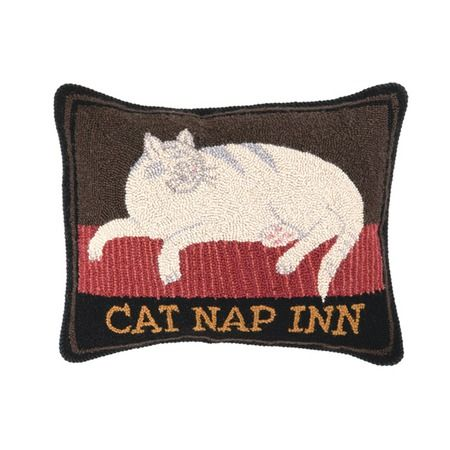 I pinned this Cat Nap Inn  Pillow from the Reigning Cats & Dogs event at Joss and Main!