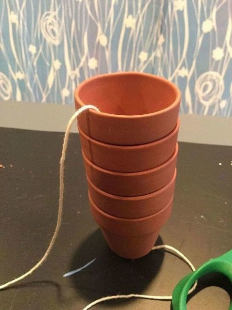 Stack 5 Mini Terra Cotta Pots To Make Sitting On Your Porch More Enjoyable Not For Flowers Terracotta Pots Small Terracotta Pots Terra Cotta Pot Crafts