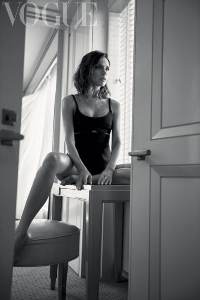 Victoria Beckham photographed by Lachlan Bailey for the October 2016 issue of Vogue: inside she shares a letter to herself, click through to read an extract here