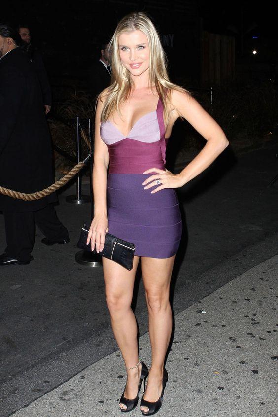 Very Very Short Dress Tease - Joanna Krupa in a skin tight dress ...