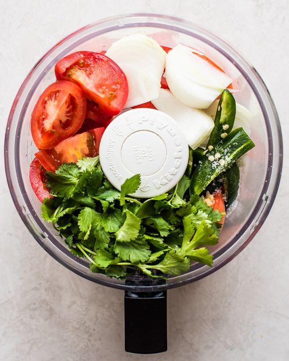 5-Minute Fresh Homemade Salsa