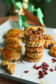Angie's Recipes . Taste Of Home: Soya Spelt Scones with Cranberry and White Chocolate