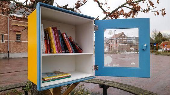 Boekenruilkast Heffen Mechelen 2