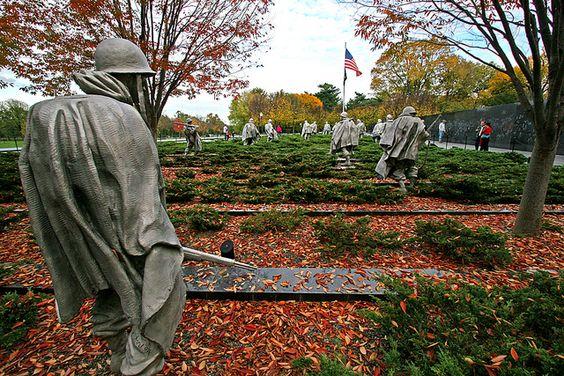 Korean War Veterans Memorial ** Haunting but beautiful.