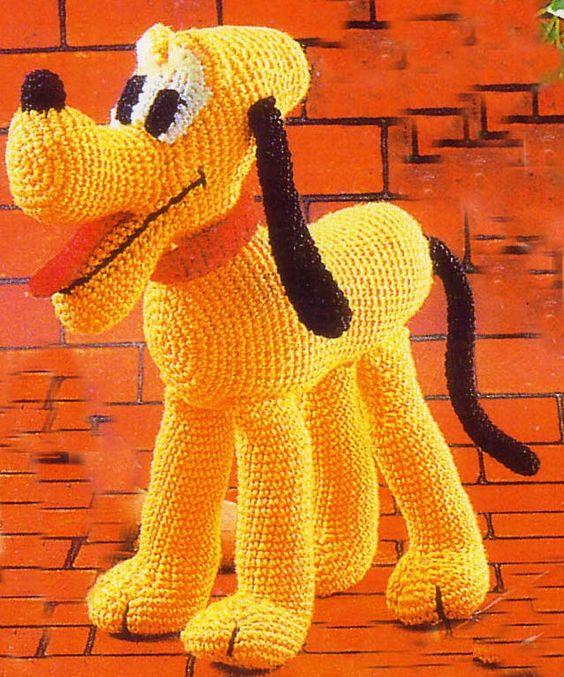 Amigurumi Disney Gratis : Ebook crochet amigurumi pluto pdf pattern toys