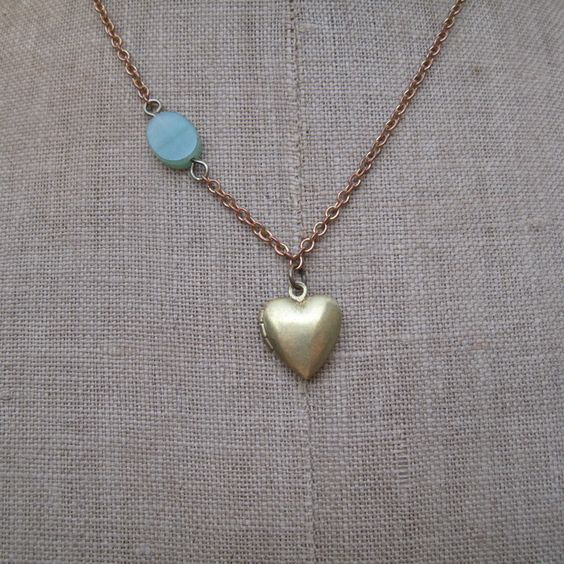 Zarina Secret Heart Necklace