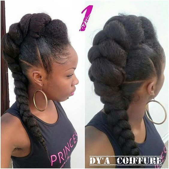 Natural Hairstyles for the Workplace - Beauty On The Beat
