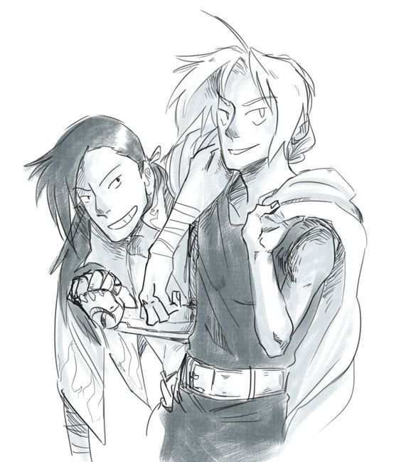 Ling and Ed by rpghero