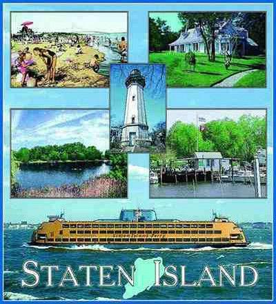 Staten Island New York Tapestry