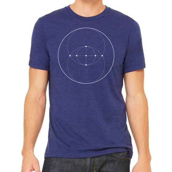 Sacred Geometry Clothing - Sacred Geometry Shirt - Vesica Piscis Eye
